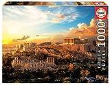 Educa- Acrópolis de Atenas Puzzle, 1000 Piezas, Multicolor (18489)