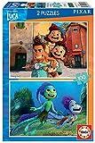 Educa Pixar Luca Disney. Set de Dos Puzzles Infantiles de 100 Piezas. A Partir de 6 años. 19181, Multicolor