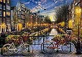 Educa- Ámsterdam paisajes y Lagos Puzzle, 2000 Piezas, Multicolor (17127)