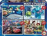 Educa- Pixar Disney Conjunto de Puzzles Progresivos, Multicolor (15615)
