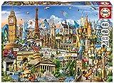 Educa- Símbolos de Europa Puzzle, 2000 Piezas, Multicolor (17697)