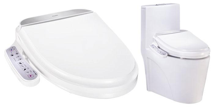 Asiento de inodoro japones con tecnologia inteligente Flory FDB300