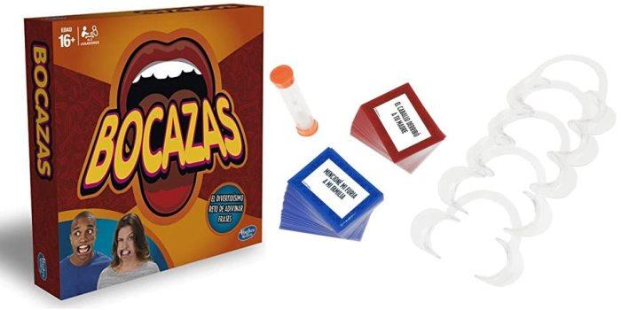 Juego de mesa Bocazas caja tablero fichas cartas