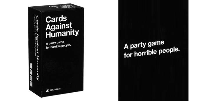 Juego de mesa Cards Against Humanity caja tablero fichas cartas