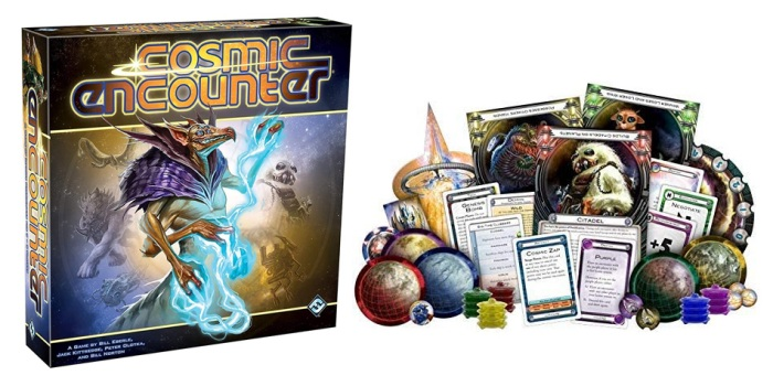 Juego de mesa Cosmic Encounter caja tablero fichas cartas