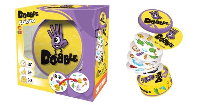 Juego de mesa Dobble caja tablero fichas cartas