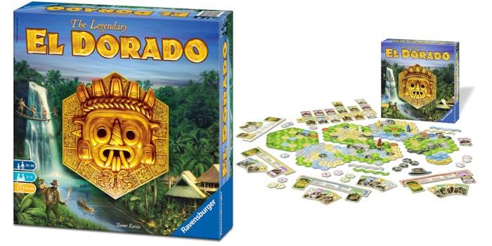 Juego de mesa El Dorado caja tablero fichas cartas
