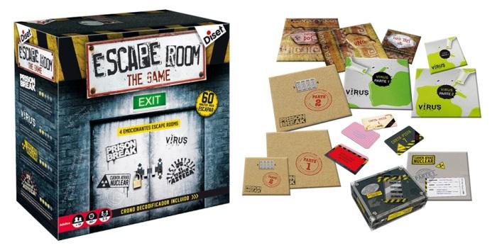 Juego de mesa Escape Room The Game caja tablero fichas cartas