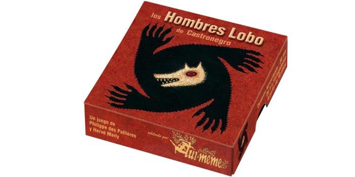 Juego de mesa Hombres Lobo caja tablero fichas cartas