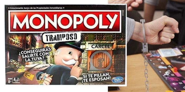 Juego de mesa Monopoly Tramposo caja tablero fichas cartas