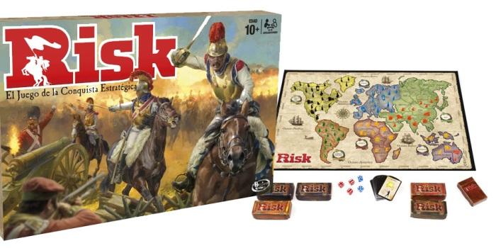 Juego de mesa Risk caja tablero fichas cartas