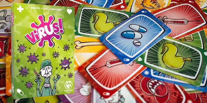 Juego de mesa Virus caja tablero fichas cartas