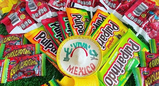 dulces picantes mexicanos en Espana