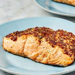 receta de salmon con freidora sin aceite 1